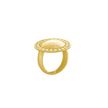 Marrakech Ring Yellow Gold