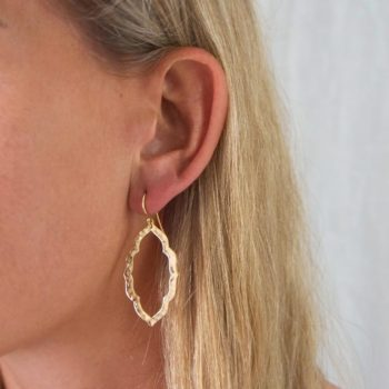 Boho chic drop earrings