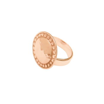 Marrakech ring in rose gold
