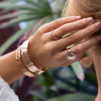 Rose Gold Bangles and Rings