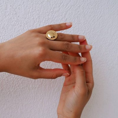 Marrakech Ring in 18 KT Yellow Gold