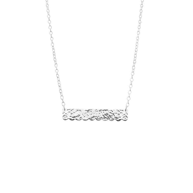 lace bar necklace