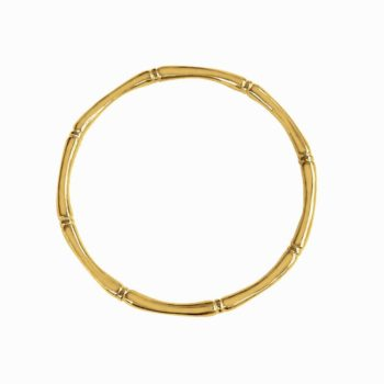bamboo bangle yellow gold 18KT
