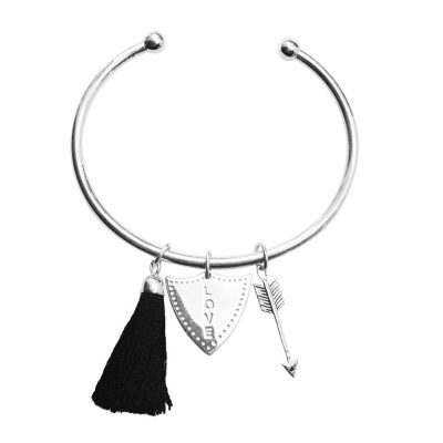 tassel arrow bangle
