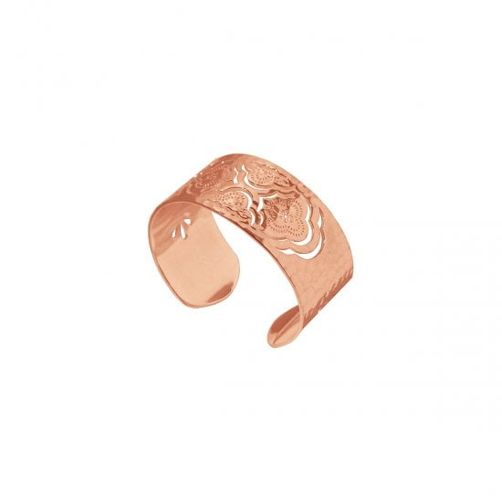 cuff bangle rose gold
