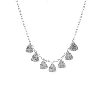 Tribal Necklace Silver