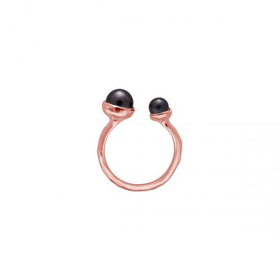 Pear Ring Rose Gold