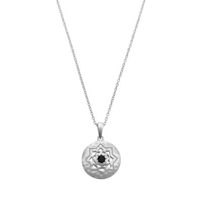 sterling silver pendant necklace