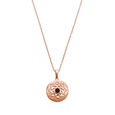 Andalusia Necklace in Rose Gold