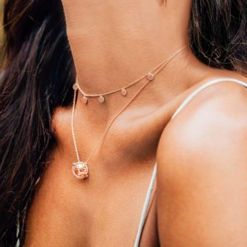 Escape Necklace in Rose Gold