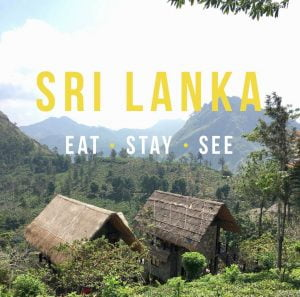 sri lanka travel blog
