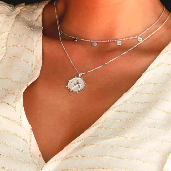 Freedom Necklace in Sterling Silver