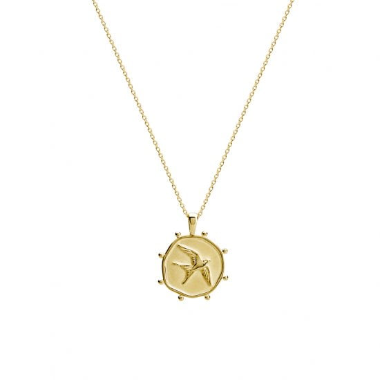 Freedom Necklace in 18 KT Yellow Gold Plate
