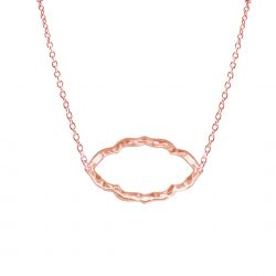 Nomad Necklace in Rose Gold