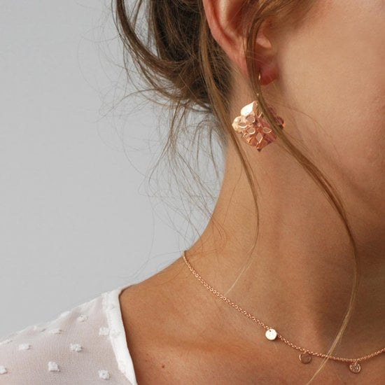 Thai Princess Earrings in Rose Gold