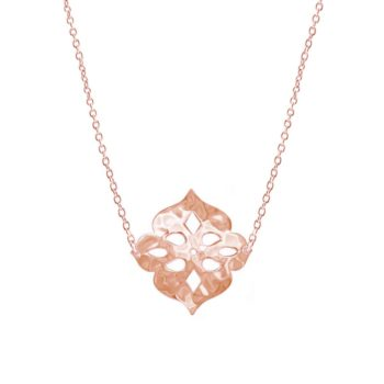 Thai Princess Necklace in Rose Gold