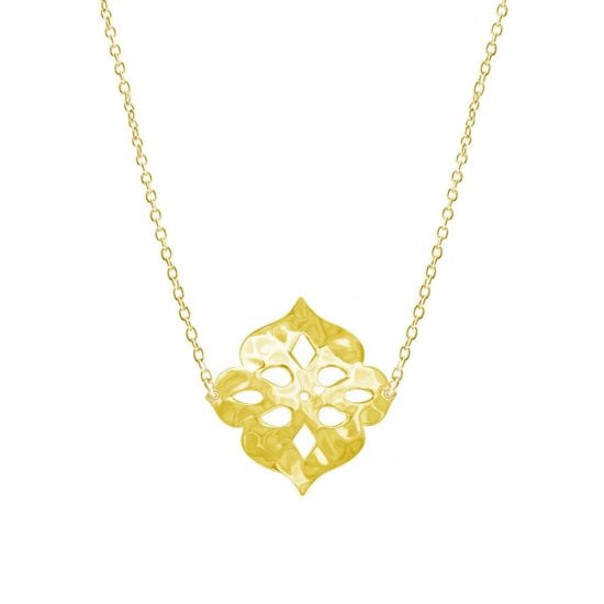 Thai Princess Necklace in 18 KT Yellow Gold
