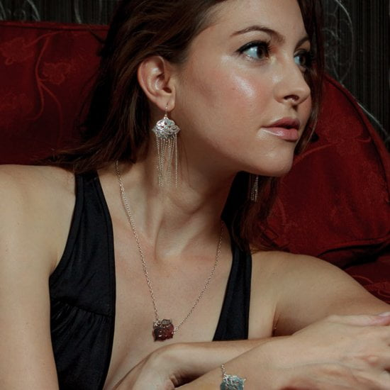 Thai Princess Chanderlier Earrings with Long Chains
