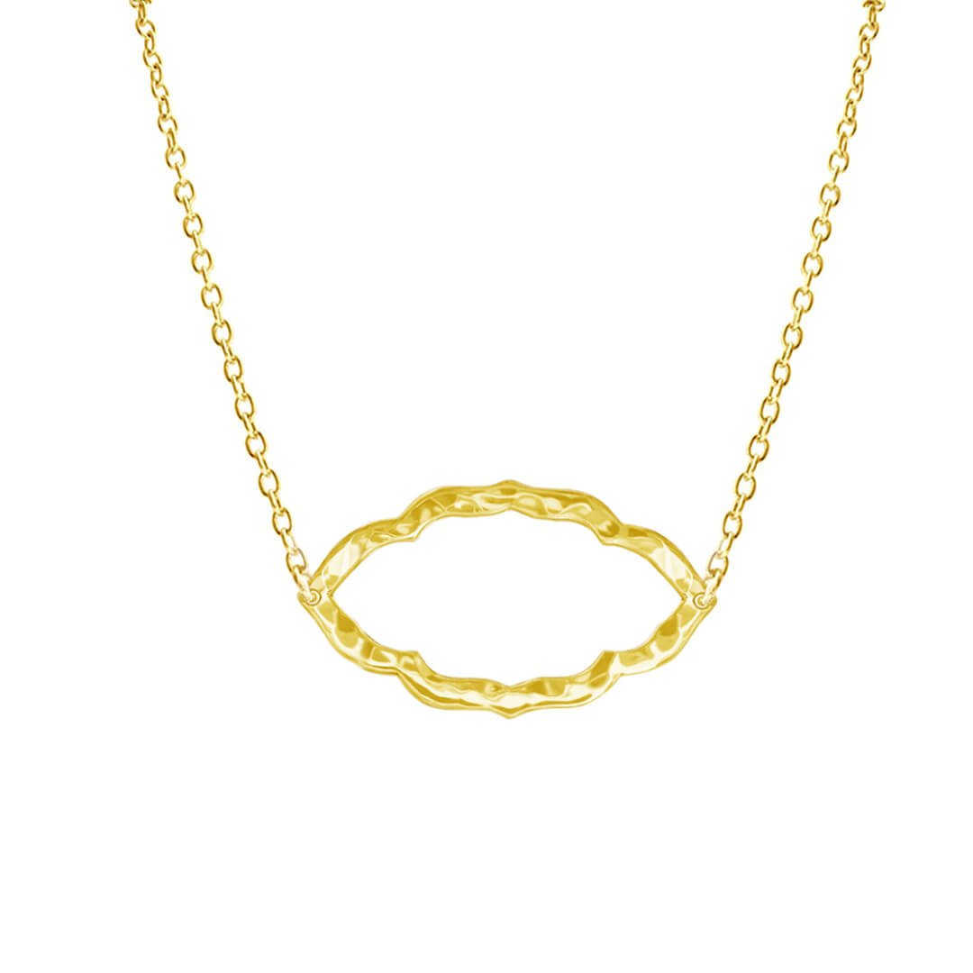 Nomad Necklace in 18 KT Yellow Gold