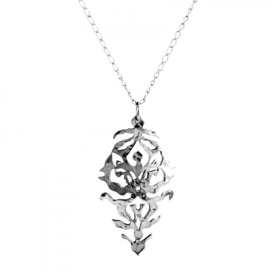 Empire Necklace Sterling Silver