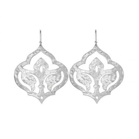Moroccan Earrings in Sterling Silver