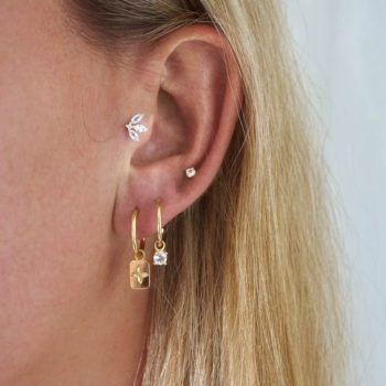 Ear stacks earrings