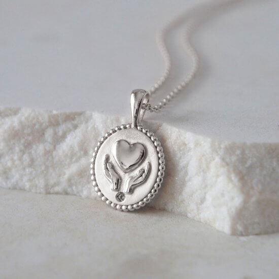 Healing Sterling Silver Necklace