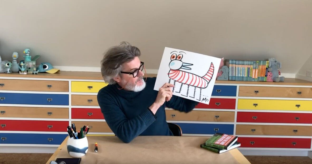 Learn to draw with Mo Willems