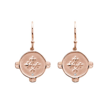 Hope earrings rose gold