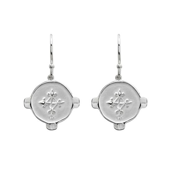 Hope earrings silver