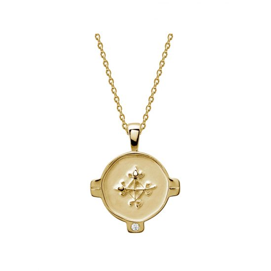 hope necklace yellow gold