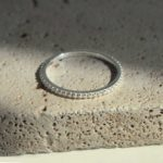Murkani Eternity Ring White Topaz 925 Sterling Silver