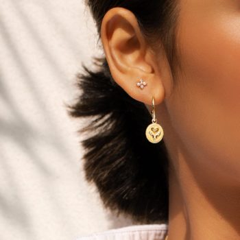 healing hands earrings-YG