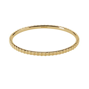 fluted bangle-YG