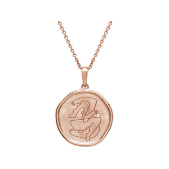 Empowerment Necklace Rose Gold